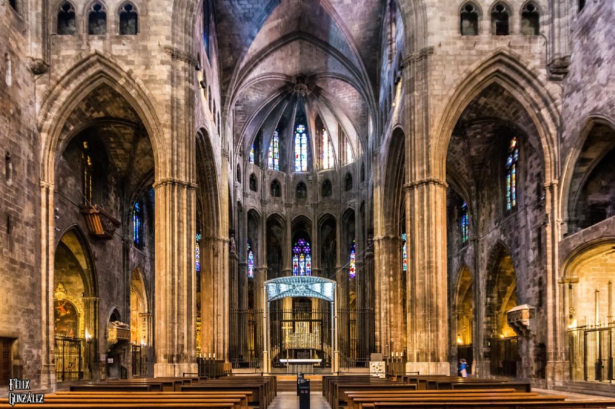 5586 La Catedral De Santa Maria De Girona Por Felix Gonzalez