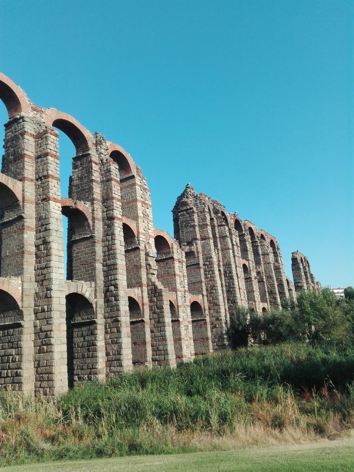 Acueducto de emerita augusta m rida por josef for Oficina de turismo de merida