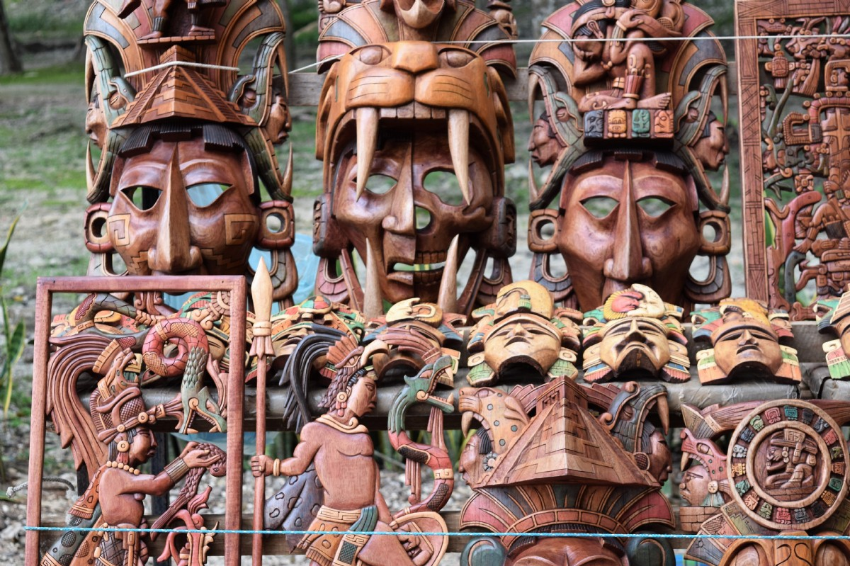Artesanías Mayas Por Aluna Fotografía Turismo De Observación