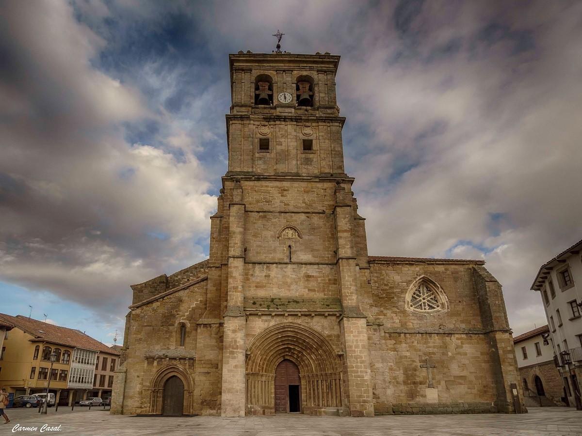 Colegiata de San Miguel en Aguilar de Campoo por Carmen Casal ...