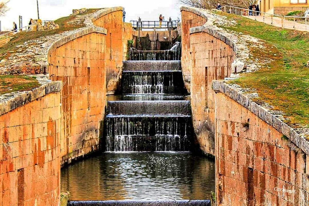 Esclusas del canal de Castilla, Fromista por Carmensate ...