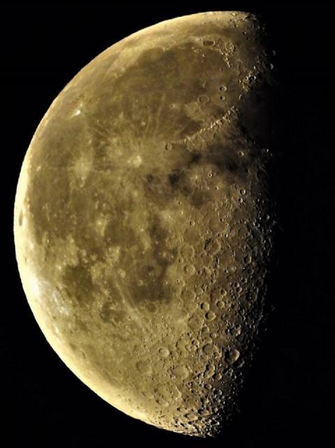 Luna en cuarto menguante por Antonio Tavares   Fotografía   Turismo ...